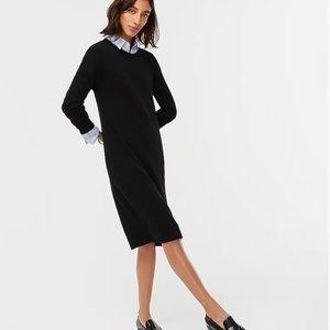 NWT J.CREW 100% CASHMERE DRESS SMALL
